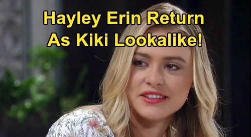 General Hospital Spoilers: Should Hayley Erin Play a New GH Character – Kiki Jerome Lookalike Stuns Ava?