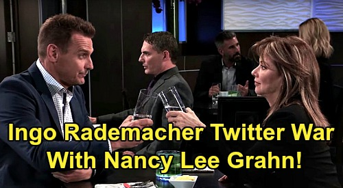 General Hospital Spoilers: Nancy Lee Grahn Blocks Ingo Rademacher On Twitter - Controversy Over COVID-19 Sparks Debate