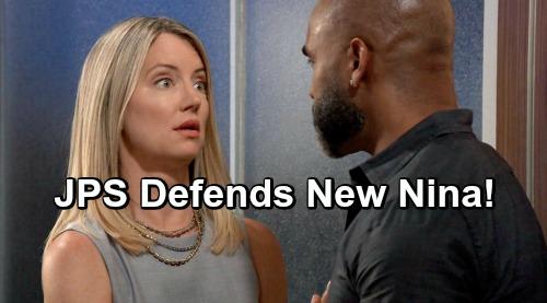 General Hospital Spoilers: James Patrick Stuart Defends New Nina – Promises Cynthia Watros Will Change Critics' Minds