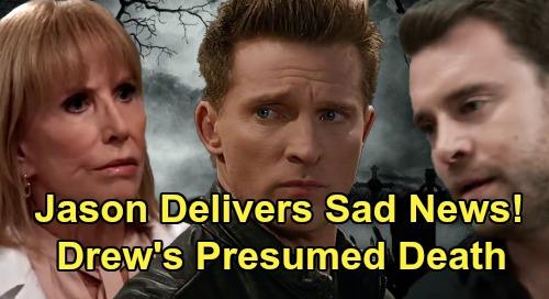 General Hospital Spoilers: Jason Breaks Drew's Horrible Fate to Monica – Brother's Presumed Death Brings Flood of Emotions?