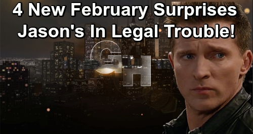 General Hospital Spoilers: 4 More February Sweeps Surprises – Jason's Legal Trouble, Deadly Drama, and Stunning Connections