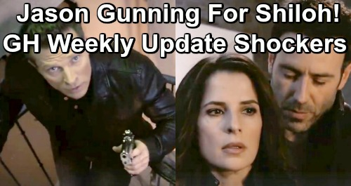 General Hospital Spoilers: Carly Huge Pregnancy Risk - Shiloh's Got Sam, Jason To The Rescue - Laura Comes Face To Face With Kevin