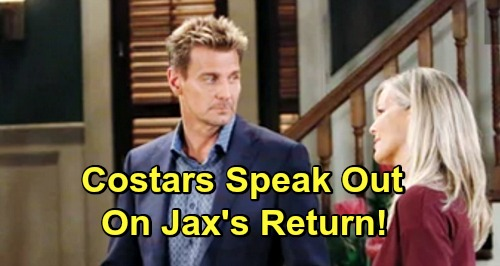 General Hospital Spoilers: GH Costars Speak Out On Jax's Return - Ingo Rademacher's First Airdate Revealed