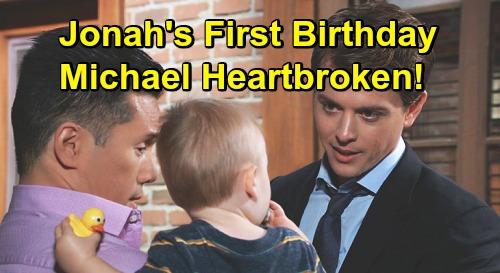 General Hospital Spoilers: Michael Heartbroken On Jonah's 1st Birthday - Baby Swap Storyline Needs To End