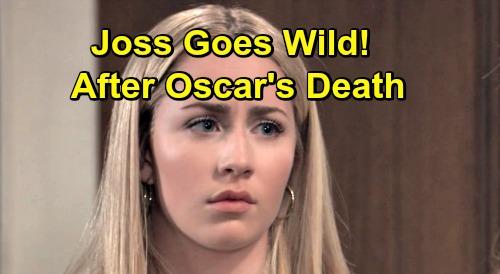 General Hospital Spoilers: Bitter Josslyn Goes Wild After Oscar's Death – Cameron Struggles to Help