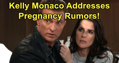 General Hospital Spoilers: Kelly Monaco Addresses Pregnancy Rumors - Explains Why GH's Sam McCall Gained 15 Pounds