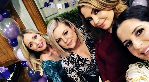 General Hospital Spoilers: Kelly Monaco Celebrates Lovely Ladies of GH – Kirsten Storms Reveals Laughs on Set with the Girls