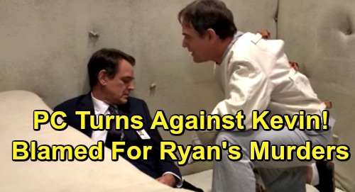 General Hospital Spoilers: Kevin Blamed For Ryan's Killing Spree – Furious PC Residents Say He Could Have Prevented Murders
