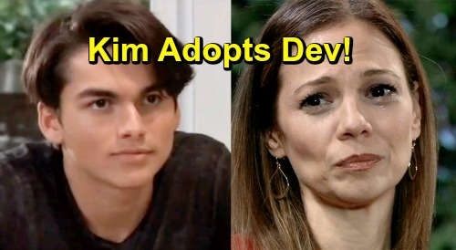 General Hospital Spoilers: Kim Finds Oscar's Replacement, Dev Obsession For Desperate Mom Leads to Adoption?