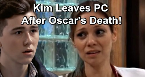 General Hospital Spoilers: Kim Can't Cope With Oscar's Death, Leaves Port Charles