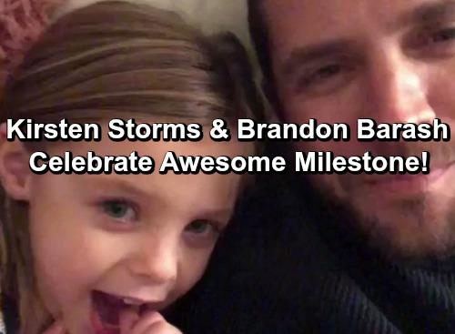 General Hospital Spoilers: Brandon Barash and Kirsten Storms Celebrate Awesome Family Milestone – Daughter Harper Rose Big News