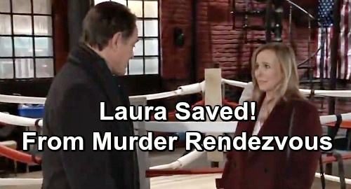 General Hospital Spoilers: Laura Saved From Ryan's Murder Rendezvous: Chet Interrupts Deadly Meeting?