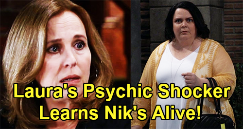 General Hospital Spoilers: Laura's Shocker With Ava's Psychic Chelsea - Reveals Nikolas Is Alive?