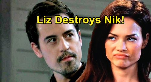 General Hospital Spoilers: Liz Explodes Over Dirty Hayden Trick and Abandoned Violet - Nikolas New Port Charles Pariah