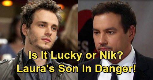 General Hospital Spoilers: Lucky Spencer or Nikolas Cassadine - Laura's Son in Grave Danger, But Which One?
