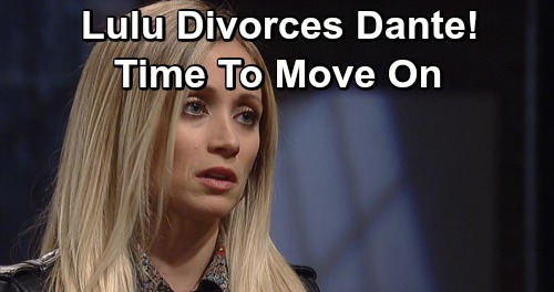 General Hospital Spoilers: Lulu Divorces Dante After Shooting - Needs Live-In Husband and Father, Finds New Love?