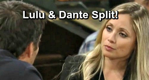 General Hospital Spoilers: Dante Rescue Mission Sad Outcome - Lulu Splits With Husband, Lante Ends