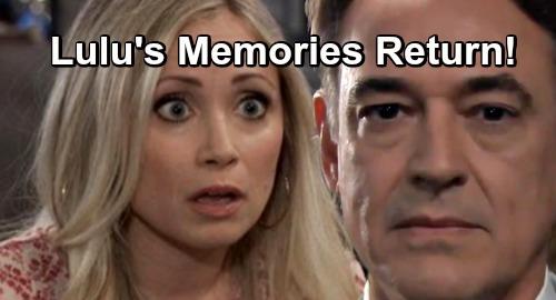 General Hospital Spoilers: Two Weeks Ahead - Lulu's True Memories Come Flooding Back – Ryan Busted