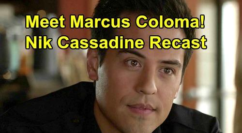 General Hospital Spoilers: Meet Marcus Coloma - New Nikolas Cassadine Recast GH Debut