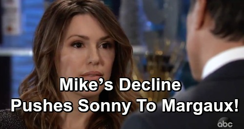 General Hospital Spoilers: Mike's Decline Pushes Sonny Toward Margaux – Carly's Cheating Fears Intensify