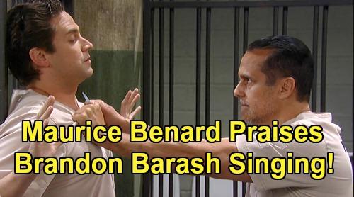 General Hospital Spoilers: Maurice Benard Praises Brandon Barash's Singing – Sonny Corinthos' Shoutout to DOOL's Stefan DiMera