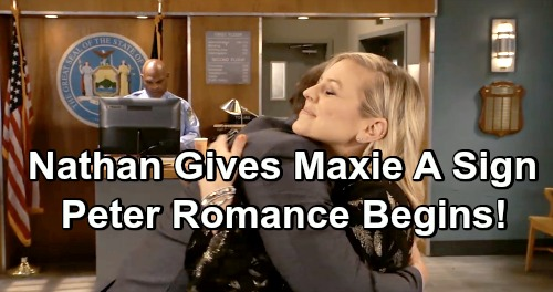 General Hospital Spoilers: Nathan Gives Maxie a Sign, Opens Her Heart To Peter - Couple Embarks On New Relationship