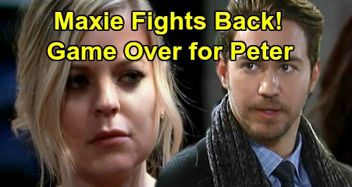 General Hospital Spoilers: Maxie Fights Back, Game Over for Peter – Jason and Spinelli's New Ally Is Sam's Only Hope?