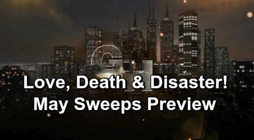 General Hospital Spoilers: May Sweeps Preview – Obstacles To Love, JaSam Risks All, Nurses Ball Calamity & Oscar's Death