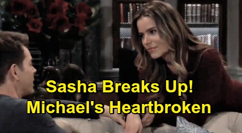 General Hospital Spoilers: Sasha Breaks Michael's Heart, Doesn't Want to Help Raise Wiley – Son's Return Ends Romance?