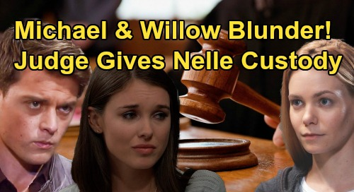 General Hospital Spoilers: Michael and Willow Marriage Blunder – Nelle Wins Wiley Custody, Judge Sees Through Ploy?