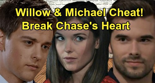 General Hospital Spoilers: Willow Cheats with Michael, Breaks Chase's Heart – Crushing Betrayal Stuns Devoted Boyfriend?