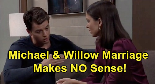 General Hospital Spoilers: Michael's Absurd Marriage To Willow - How Much Nonsense Will GH Viewers Accept In The Custody Storyline?