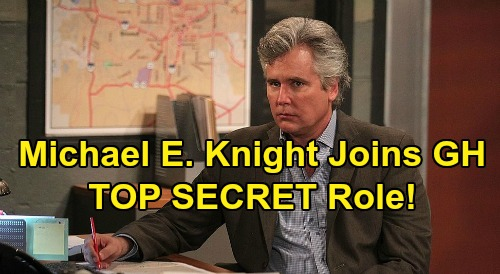General Hospital Spoilers: Michael E. Knight Joins GH - Cast in Top Secret Role