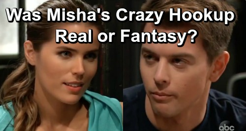 General Hospital Spoilers: Sasha and Michael's Hot Hookup – Was It Real or Just a Steamy Fantasy?