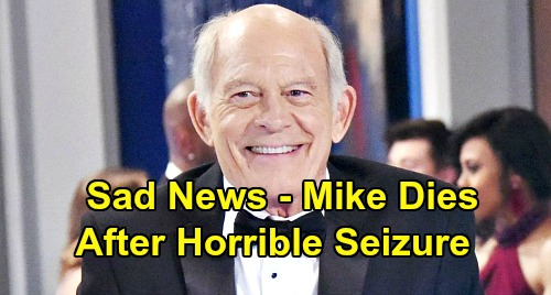 General Hospital Spoilers: Mike Dies After Horrible Seizure, Sonny's with Dad as End Draws Near – Max Gail's Exit Ahead