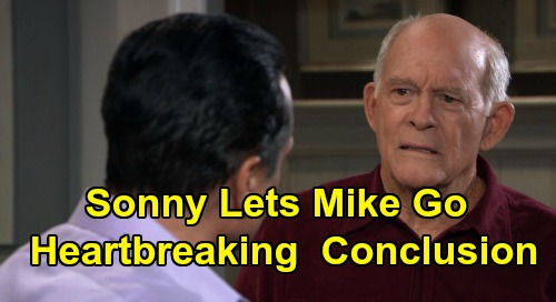 General Hospital Spoilers: Sonny's Difficult Decision to Let Mike Go – Inevitable Death Looms, Heartbreaking Story's Conclusion