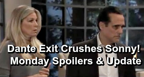 General Hospital Spoilers: Monday, April 1 – Sonny Crushed by Dante Exit – Maxie Reveals DNA Test Results – Nora Buchanan Return