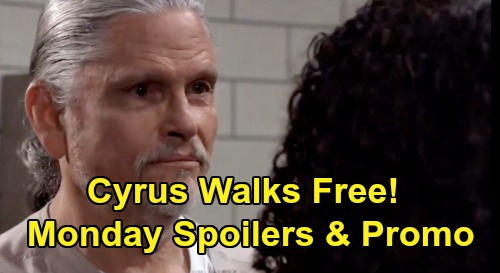 General Hospital Spoilers: Monday, April 6 – Cyrus Walks Free – Ava Sounds Nelle Alarm – Joss Freaks Over Trina