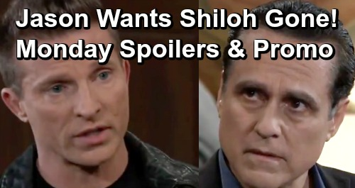 General Hospital Spoilers: Monday, April 8 – Chase Threatens Shiloh – Jason and Sonny Ready for DoD Takedown – Finn's Proposal