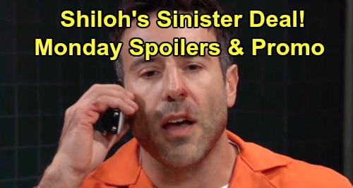 General Hospital Spoilers: Monday, August 19 – Shiloh Sets Up Sinister Deal – Lulu Closes Dante Chapter – Scott's Heartbreak
