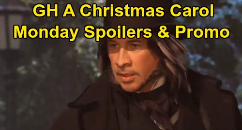General Hospital Spoilers: Monday, December 23 – Tracy's Home for the Holidays – Finn and Franco Star in GH 'A Christmas Carol'