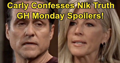 General Hospital Spoilers: Monday, December 30 – Sonny Demands Truth, Carly Drops Nikolas Bomb – Curtis Preps Lulu for Battle