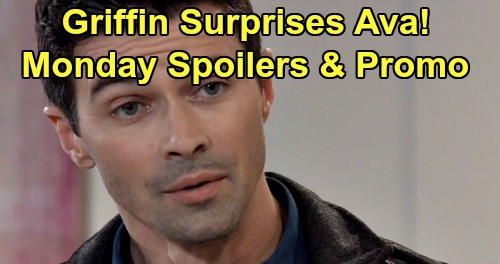 General Hospital Spoilers: Monday, December 9 – Griffin Surprises Ava – Nina Deceives Valentin – Anna Suspects Peter