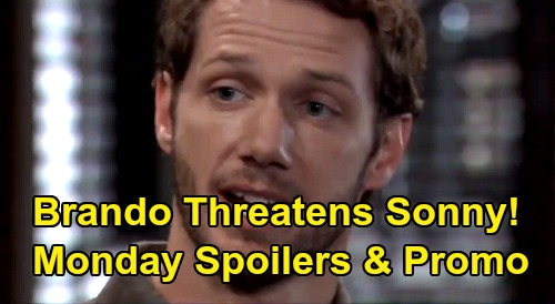 General Hospital Spoilers: Monday, February 17 – Brando Threatens Sonny - Nelle Leaves Michael In The Dirt - Willow's Wiley Goodbye