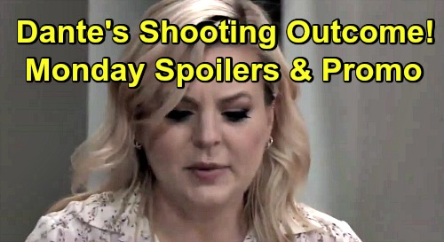General Hospital Spoilers: Monday, July 15 – Dante's Bloody Shooting Tragic Outcome – Jason Warns Carly About Thieving Dev