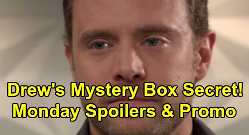 General Hospital Spoilers: Monday, July 29 – Drew's Mystery Box Secret – Smug Shiloh Rejects Plea Deal – Ava's Psychic Speed Bump
