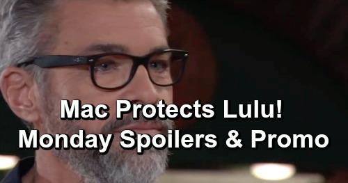 General Hospital Spoilers: Monday, June 17 – Cynthia Watros Debuts – Valentin's Shocking Offer to Jax – Mac Protects Lulu