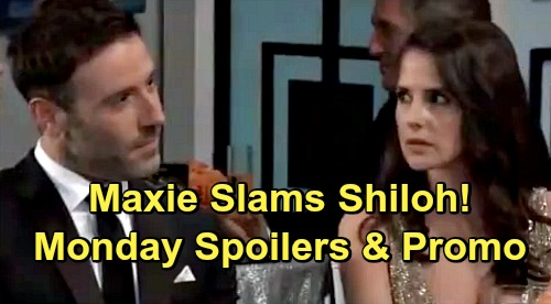 General Hospital Spoilers: Monday, May 20 – Maxie Calls Out Cult Leader Shiloh – Jason Gets Panicked Call – Willow Is on Edge