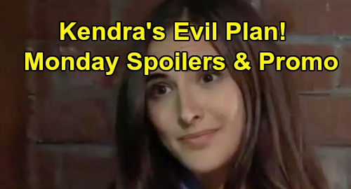 General Hospital Spoilers: Monday, October 28 – Michael and Chase Face Off – Kendra's Poisoning Plan Moves Forward