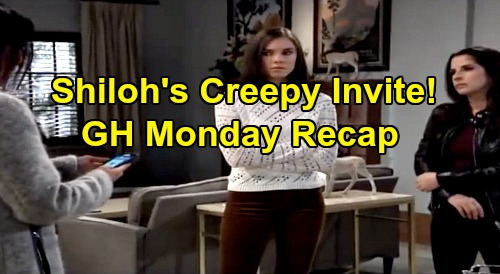 General Hospital Spoilers: Monday, December 30 Recap - Charlotte Raises Nik Alarm - Shiloh's Creepy Invitation - Sonny Busts Carly
